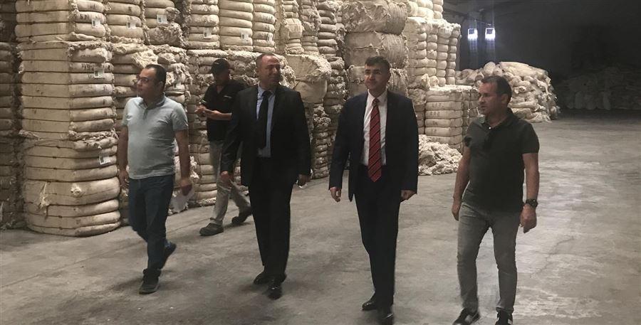 Bölge Müdürümüz Kahramanmaraş'da Gümrüklü Antrepoda incelemelerde bulundu.