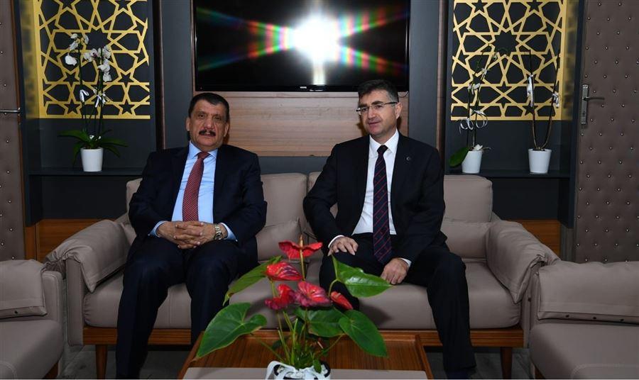 Büyükşehir Belediye Başkanı Selahattin Gürkan'dan, Bölge Müdürümüz Dr. Musa AYDEMİR'e Ziyaret