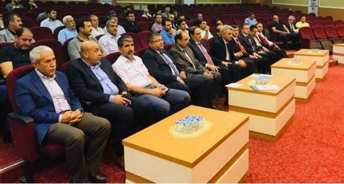 """İlimizde """"Irak Pazarlama Fırsatları"""" semineri düzenlendi."""