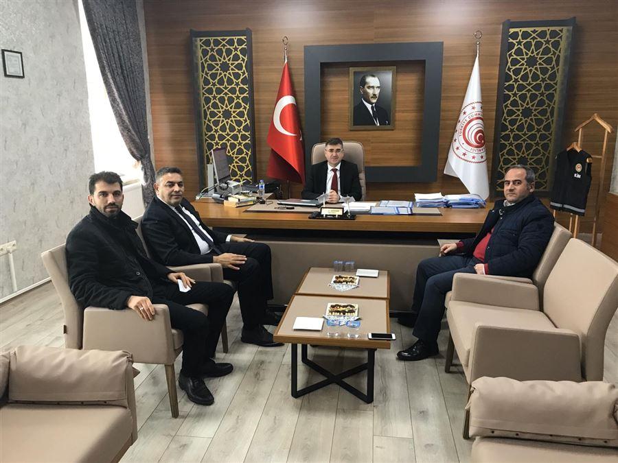 Malatya TSO Başkanı ve TOBB Yönetim Kurulu Üyesi Oğuzhan Ata SADIKOĞLU'ndan Bölge Müdürlüğümüze Ziyaret