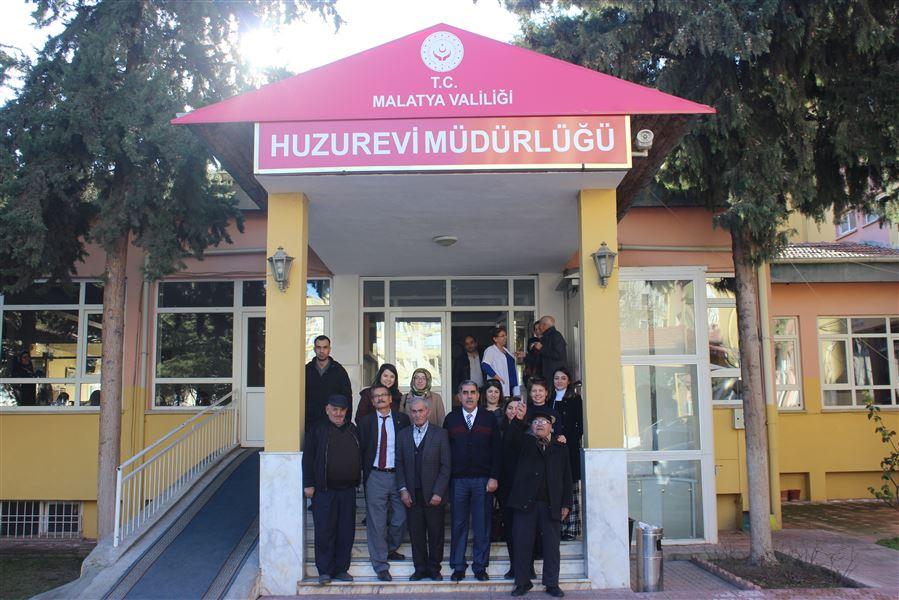 26 Ocak Dünya Gümrük Günü Etkinlikleri Kapsamında Bölge Müdürlüğümüzden Huzurevi Ziyareti