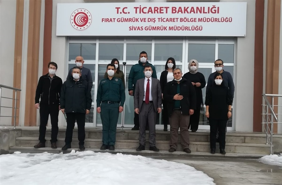Bölge Müdürümüz Dr. Musa AYDEMİR'den Sivas Gümrük Müdürlüğüne Gümrük Günü Kutlamaları Kapsamında Ziyaret