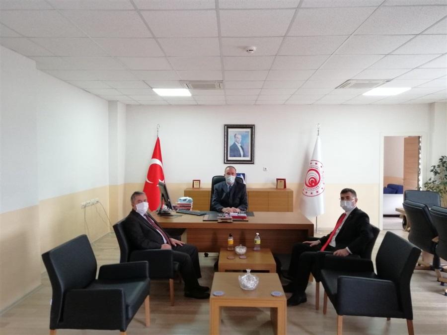 Bölge Müdürümüz Dr. Musa AYDEMİR'den Sivas Gümrük Müdürlüğüne Ziyaret
